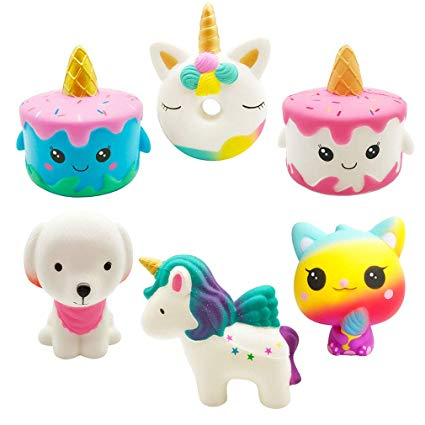 Amazon Com  Yonishy Unicorn Squishies Toy Set