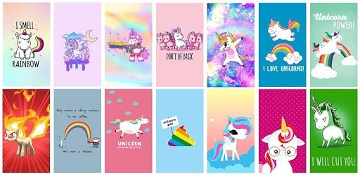 Apps Like Kawaii Unicorn Wallpaper For Android