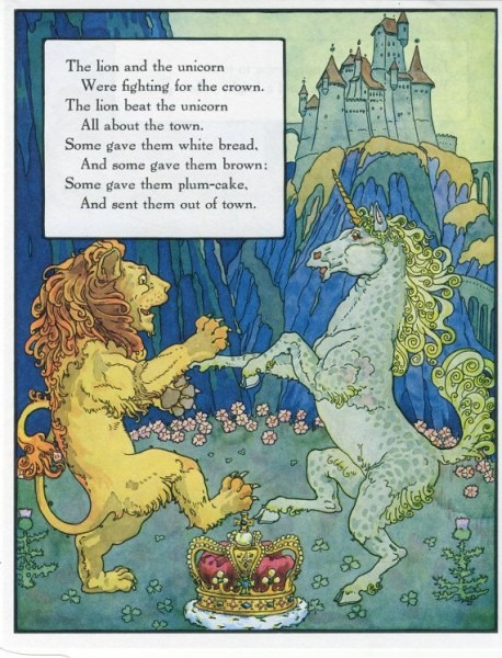 Aus   Mother Goose , Volland Popular Edition (1921), Illustration