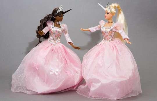 Barbie Picha Barbie Unicorn Princesses Karatasi La Kupamba Ukuta