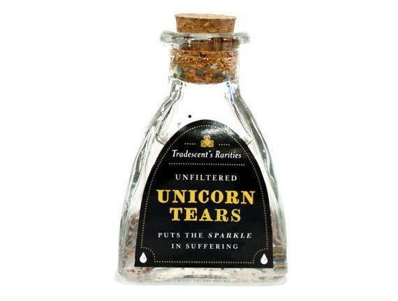 Bottled Unicorn Burps & Tears