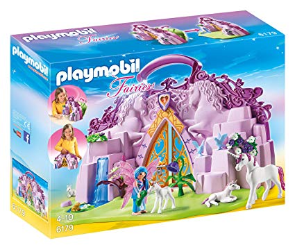 Buy Playmobil Take Along Fairy Unicorn Garden Online At Low Prices