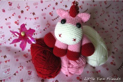 Crochet Pattern  Lil' Baby Unicorn
