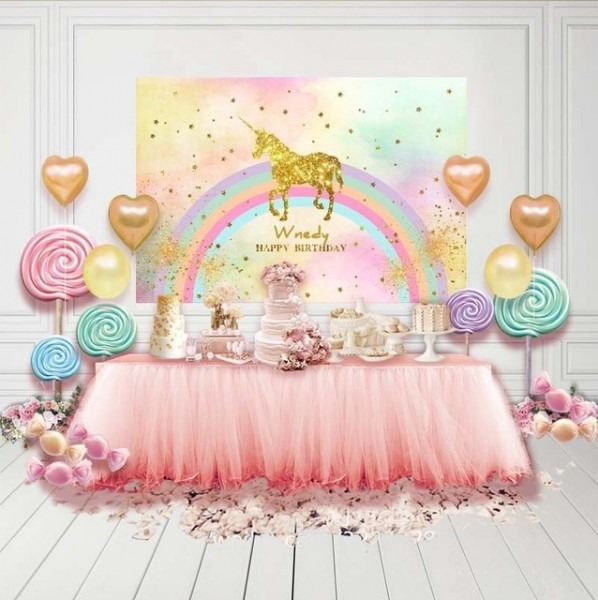 Customized Vinyl Photography Backdrops Children Birthday Party