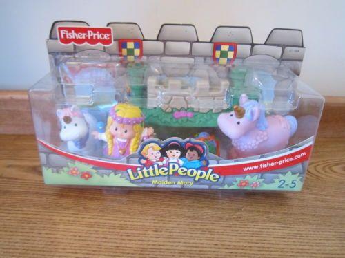 Details About Vintage 2003 Little People Lil Kingdom Castle Maiden