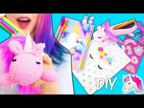 Diy Unicorn School Supplies! Learn How To Make Cutest Unicorn