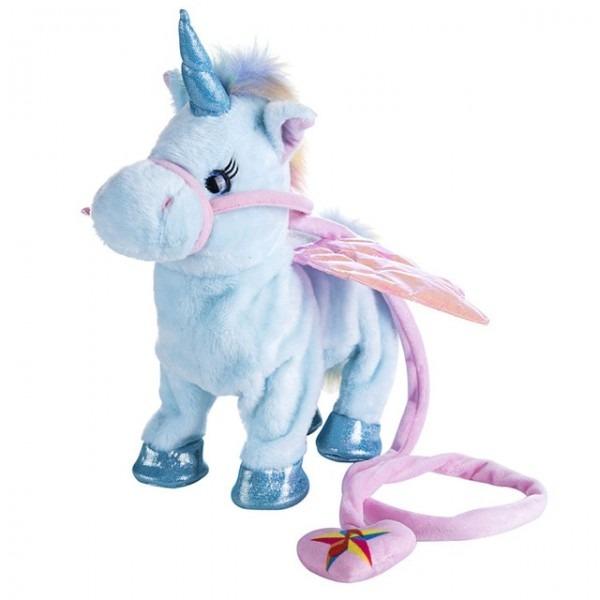Electric Musical Walking Unicorn Plush Toy And Stuffed Animal