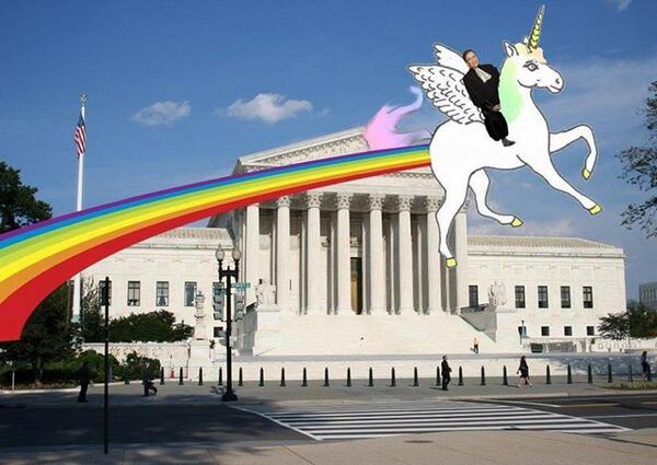 Elle Chapo On Twitter   Justice Ruth Bader Ginsburg On A Unicorn