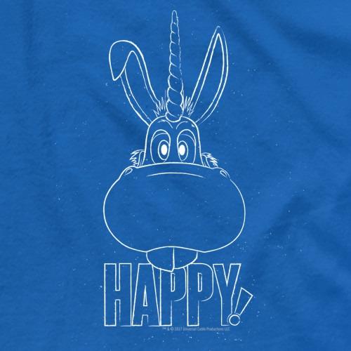 Exclusive Happy! Merchandise