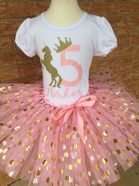 Fifth Birthday Shirt, 5th Birthday Outfit, Girls Fifth Birthday
