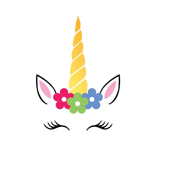 Free Font_unicorn Svg, Unicorn Head Svg, Unicorn Flower Svg