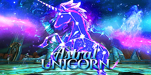Frostcaller  New Astral Unicorn Mount In Wizard101