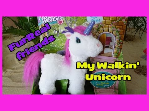 Furreal Friends My Walkin' Unicorn