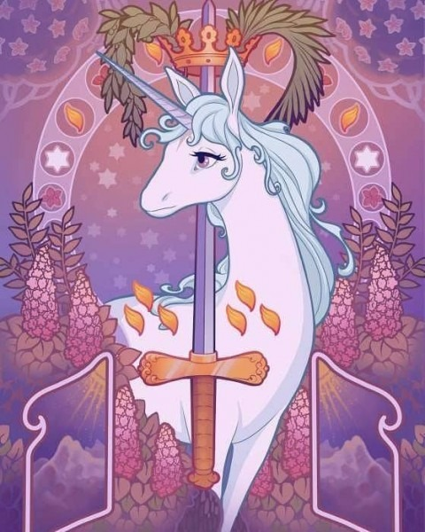 Geekify Inc  — Part Of Our Upcoming Last Unicorn Tarot Deck, The