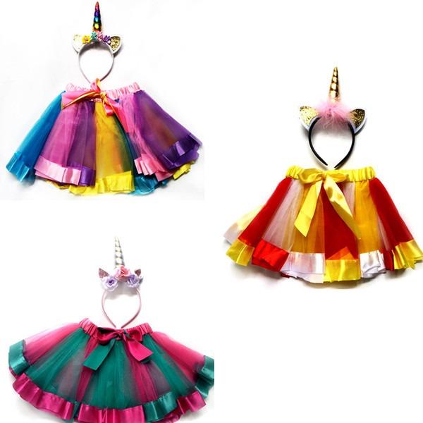 Girl Lol Unicorn Dress For Birthday Party Kid Unicorn Dress Set Near Me