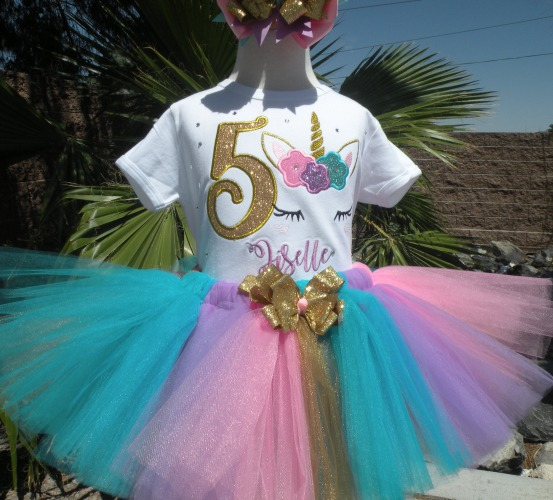 Girls Birthday Tutu Outfits