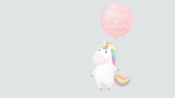 Hd Wallpaper  Magic, Minimalism, Rainbows, Unicorns