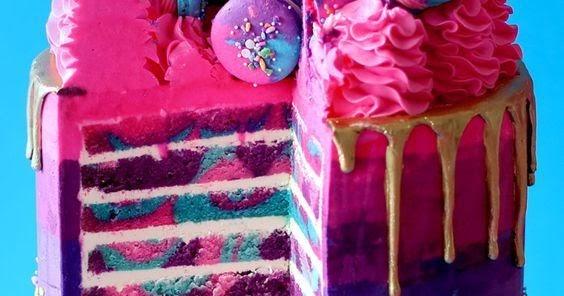 Highway Unicorn Cake