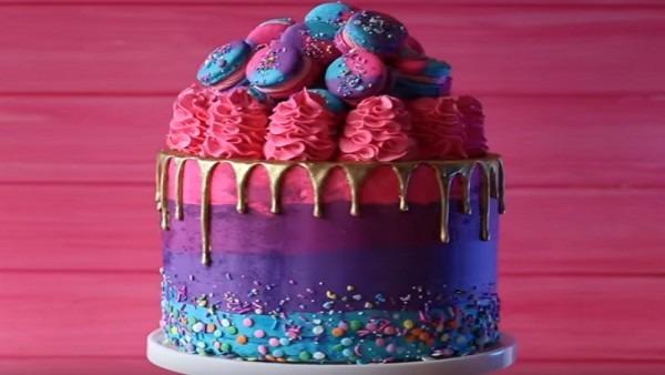 Highway Unicorn Cake (video) Sweetest Food