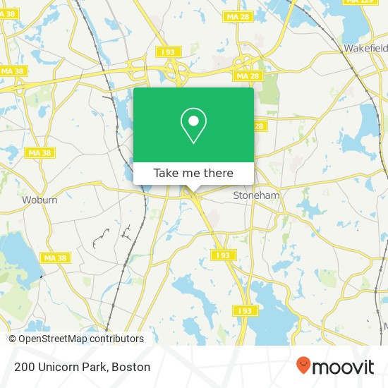 How To Get To 200 Unicorn Park In Woburn By Bus, Subway Or Train