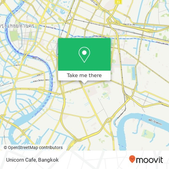 How To Get To Unicorn Cafe In Sathorn By Bus, Metro Or Ferry