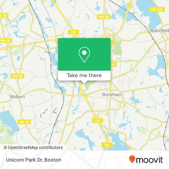 How To Get To Unicorn Park Dr In Woburn By Bus, Subway Or Train