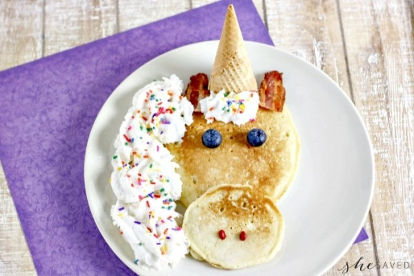 How To Make Easy Unicorn Pancakes