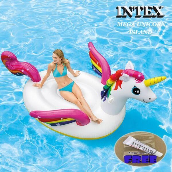Intex Mega Unicorn Island 287x193x165cm(113 76 65in) Inflatable