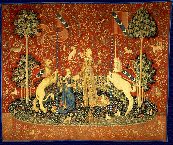 Is There A Sixth Sense In The Lady And The Unicorn Tapestries