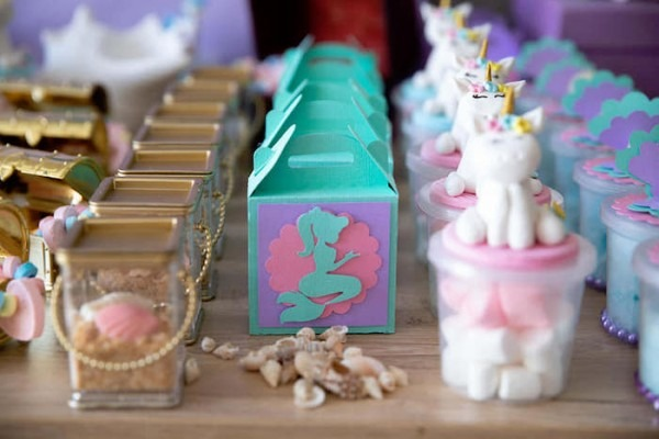 Kara's Party Ideas Unicorns And Mermaids Birthday Party