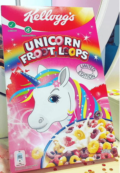 Kellogg's Unicorn Froot Loops Le