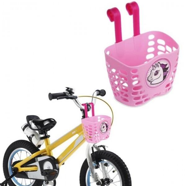 Kids Bicycle Accessories Bike Handlebar Basket Cute Cartoon