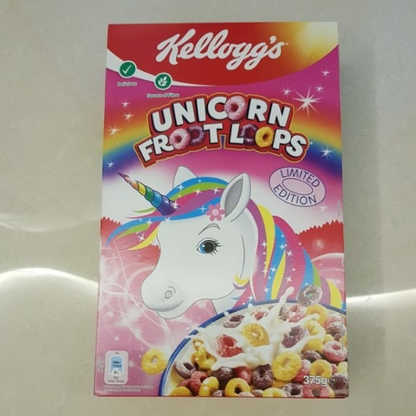Limited Edition  Kellogg's Unicorn Froot Loops On Carousell