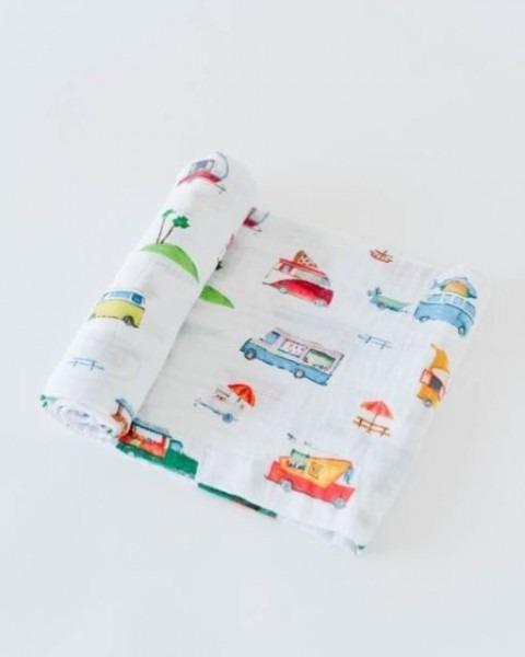 Little Unicorn Cotton Swaddle Food Trucks 140208 For Sale Online