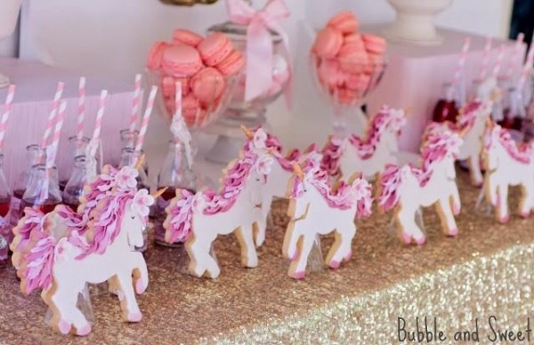 Magical And Whimsical Unicorn Themed 7th Birthday Party By Bubble
