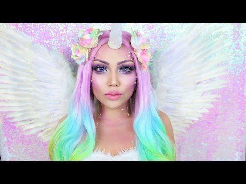 Magical Unicorn Makeup Tutorial !!!