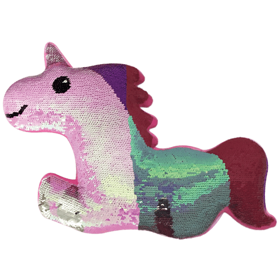 Magical Unicorn Reversible Sequin Pillow