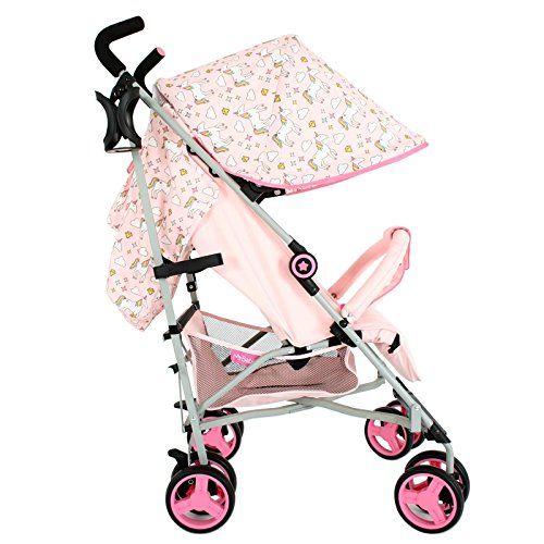 My Babiie Mb02 Pink Unicorn Stroller