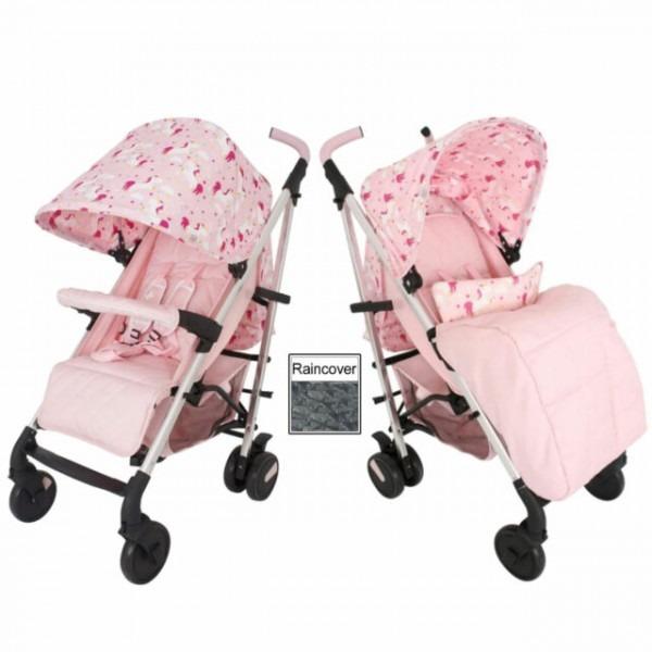 My Babiie Pink Unicorn Stroller  Pushchairs & Prams