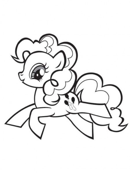 My Little Pony Unicorn Coloring Page