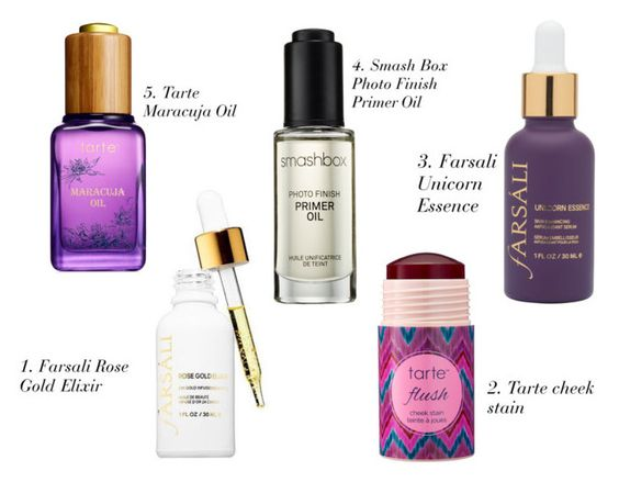 My Top 5 Beauty Products And Oils