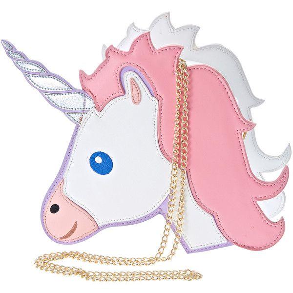 Nila Anthony Unicorn Bag ($38) ❤ Liked On Polyvore Featuring Bags