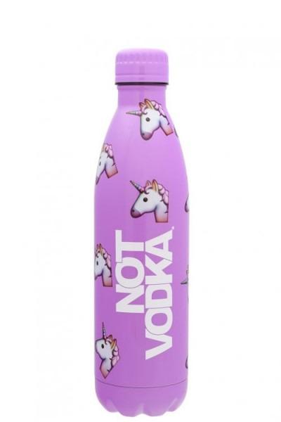 Not Vodka Bullet Bottle In Unicorn Emoji