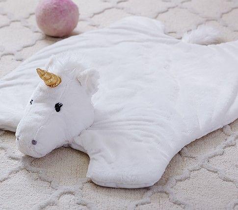 Nursery Unicorn Faux Fur Plush Rocker