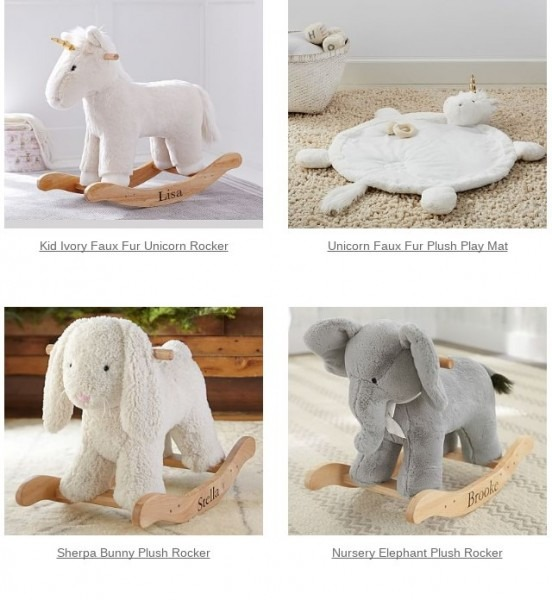 Pottery Barn  Seriously! We Saved This Unicorn Faux