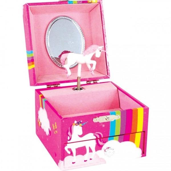 Rainbow Unicorn Jewelry Box