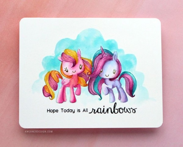 Rainbow Unicorn No