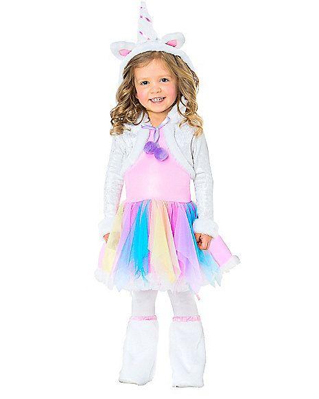 Rainbow Unicorn Toddler Costume