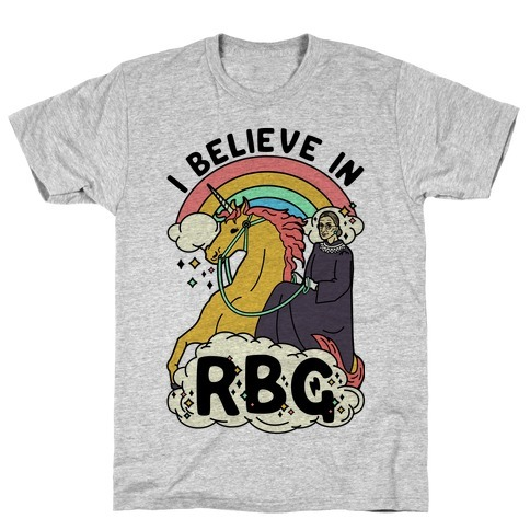Ruth Bader Ginsburg On A Unicorn T