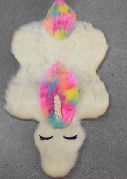 Salelast One  Unicorn Rug, Rug, Unicorn, Fur Rug, Bedroom